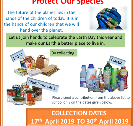 Earth day poster 2019-2